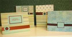 Cards by the women of Shiloh
